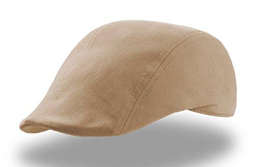 Target Swing Flatcap Schildmütze sportcap schieber (One Size - beige)
