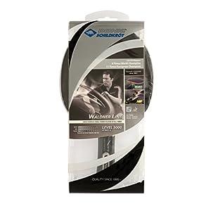 Donic-Schildkröt Tischtennisschläger Waldner 3000, ABP-Griff, 2,1 mm Schwamm, Carbonholz, Liga – ITTF Belag, 751803