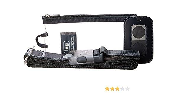 Fog Grey Belt+Tag Dot-Fog Grey Lug Luggage Belt//Tag Dot
