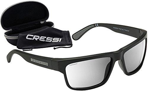 f0d0c65e5d Cressi Ipanema Gafas de Sol, Unisex Adulto, Gris/Lentes Espejados Plata,  Talla