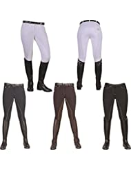 HKM pantalon d'équitation fond de peau-zürich-fond de peau intégral