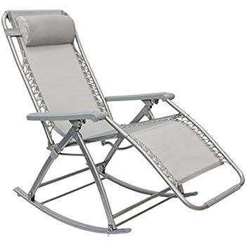 Aimado chaise longue pliante fauteuil bascule 84 116cm for Relax plage pliante