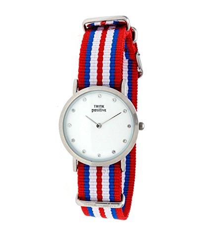 ladies-think-positiver-modell-se-w96-uhr-medium-flachstahl-kristall-armband-von-cordora-rot-blau-wei