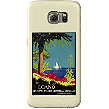Loano Vintage Poster (artist: ) Italy c. 1929 (Galaxy S6 Cell Phone Case, Slim Barely There)