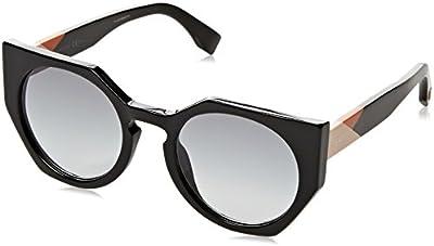 Fendi Ff 0151/S Jj, Gafas de Sol para Mujer, Black, 51
