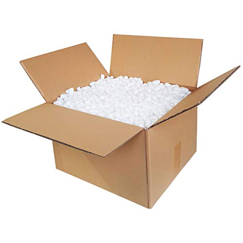 Verpackungschips Maisflips 30L Biologisch Abbaubar | Paket Füllmaterial Gegen Glasbruch | Chips Verpackung | Natürliche Bio Mais Flips | Karton (Natürlichen Mais-chips Alle)