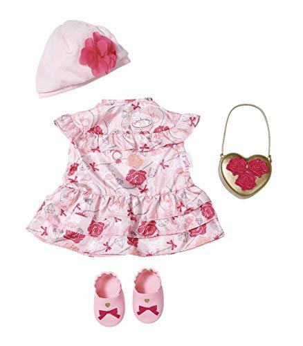 (Zapf Creation 702031 Baby Annabell Deluxe Set Blumen 43cm, rosa, rot)