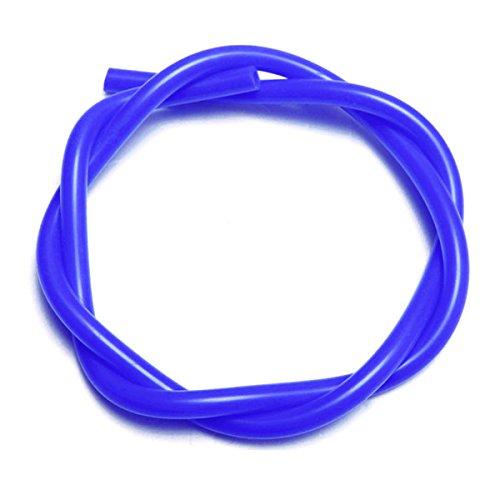 EsportsMJJ 1 M 3/4/5/6/7/8 mm Innendurchmesser Silikon Schlauch Silikon Schlauch Schläuche Turbo Kühlmittel Schlauch -Blau-5 mm