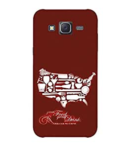 Doyen Creations Printed Back Cover For Samsung Galaxy Grand Prime