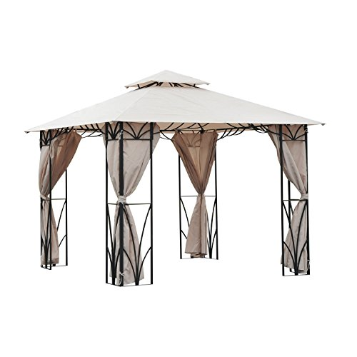 Gazebo in ferro di Outsunny