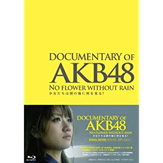 DOCUMENTARY OF AKB48 NO FLOWER WITHOUT RAIN SHOJO TACHIWA NAMIDANO ATONI NANIWO MIRU? SPECIAL EDITION(2BLU-RAY)
