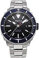 Reloj Automático Alpina Seastrong Diver 300, Negro, 44mm, 30 atm, Día