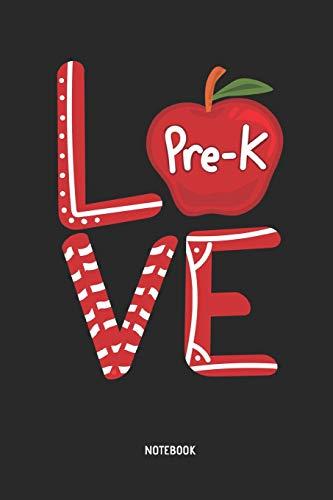 Teacher | Notebook: Pre-K, Preschool & Kindergarten Teacher Journal - Great Accessories & Gift Idea for Teacher Appreciation Day or Retirement.