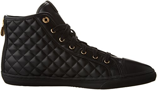 Geox - D Giyo - Baskets hautes - Femmes Schwarz (BLACKC9997)