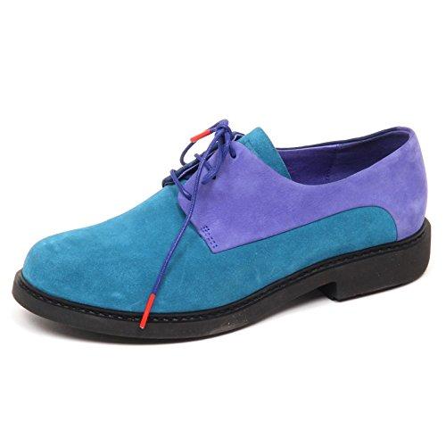 Camper D9246 (sin Caja) Scarpa Donna Twins Scarpe Shoe Mujer Blu / Viola