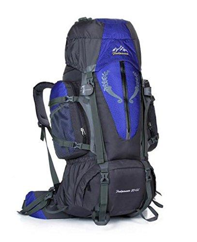 85L Im Freien Bergsteigen Tasche Verschlüsselung Nylon Wasserdicht Klettern Tasche Blue