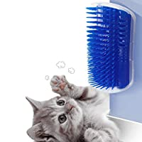 prowithlin Cat Self Groomer, 2 Pack Cat Grooming Brush, Cat Face Scratcher, Wall Corner Groomers Soft Grooming Brush Cat Massage Combs for Short Long Fur Cats, Softer Massager Toy for Kitten Puppy