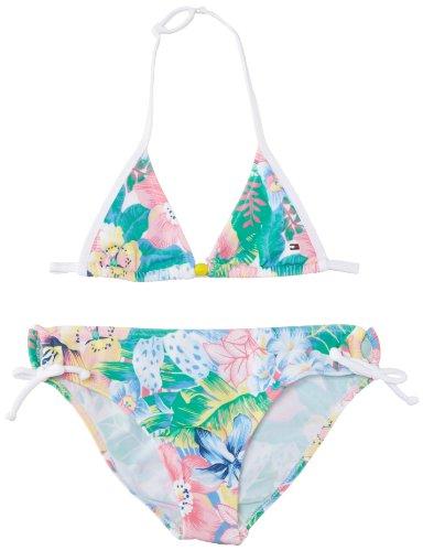 Tommy Hilfiger Mädchen Bikini BERMUDA FLOWER / EX57119593, Mehrfarbig (478 TRUE NAVY-PT/ MULTI), Gr. 152