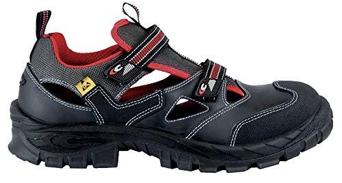 Cofra Guttorm S1 SRC Sicherheit Sandale, schwarz, Größe 43, 13050-000