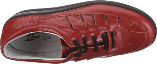 Hans Herrmann Collection Meran 170029-199, Chaussures basses femme Rouge-TR-SW16