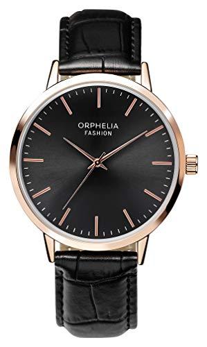 Orphelia Fashion Herren Analog Quartz Uhr Victorian mit Leder Armband