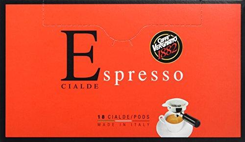 Caffè Vergnano 1882 Espresso ESE pads, 2er Pack (2 x 18 Stück, 2 x 125 g)