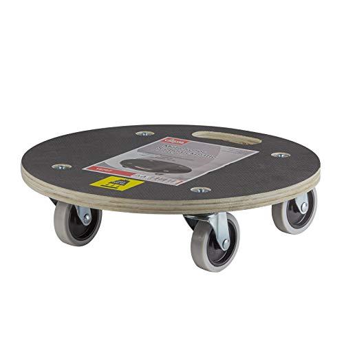 DEMA Möbelroller Siebdruckplatte 380 mm Ø 200 kg