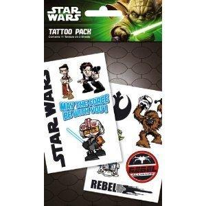Star Wars - Rebels Tattoo Pack, 11x18 cm