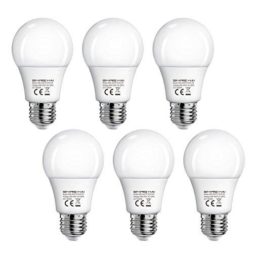 shine-hai-lampadina-led-e276w-equivalente-a-40wluce-bianca-freddo-6500k470lm-confezione-da-6
