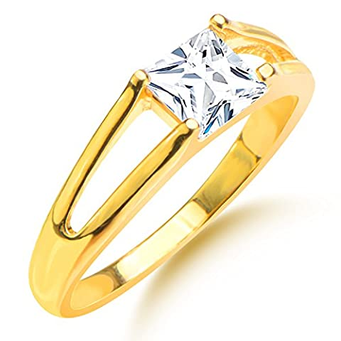 Luxury Hollow Ziron Ring Men/Women Gift 18k Gold Plated Simulated Diamond Classic Gold Wedding Rings Jewelry R70097