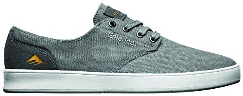 Emerica Romero Skateschuh mit Schnürung, Schwarz (Black/Gum/Grey), 41 EU M