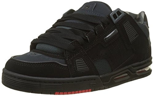 Globe Sabre, Scarpe da Fitness Uomo, Multicolore (Black/Night/Red 000), 42 EU