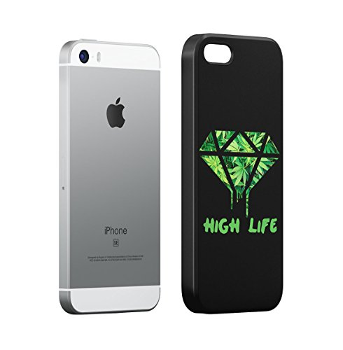 Leaking Diamond Cosimc Galaxy Space Stars Apple iPhone 5 , iPhone 5S , iPhone SE Snap-On Hard Plastic Protective Shell Case Cover Custodia High Life