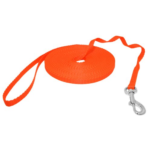 Hunde Design Mini Schleppleine Orange 20m