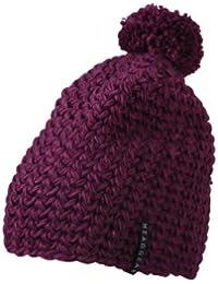Myrtle Beach Bonnet en crochet avec pompon Uni