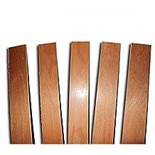 Láminas de recambio para somieres de camas individuales. Producto fabricado en madera de haya.