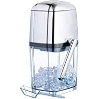 SCSBZ Crema trituradora de Hielo de manivela portátil for Uso doméstico y Comercial 15 Minutos Ice out