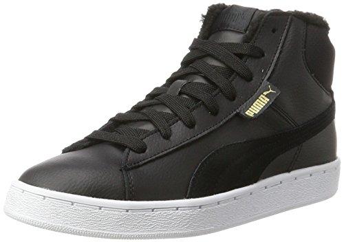 Puma Unisex-Erwachsene 1948 Mid L Fur Hohe Sneaker, Schwarz (Black-Black), 42 (Schuhe 1950)