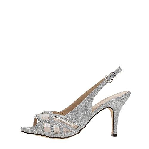 Menbur 07532 Sandale Femme silver