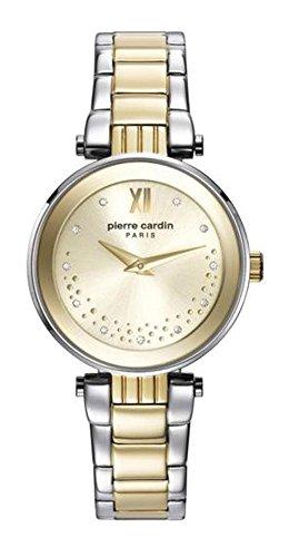 Pierre Cardin Reloj Analogico para Mujer de Cuarzo con Correa en Acero Inoxidable PC108062F06