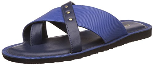 ea2adc703 BATA Men s Spice Blue Hawaii Thong Sandals - 8 UK India (42 EU) ...