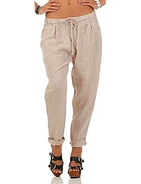 Malito Ocio Pantalones de Lino c