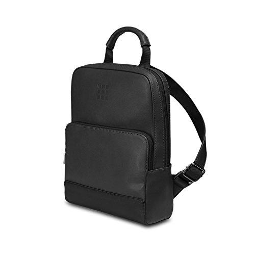 Moleskine classic mini backpack, zaino mini per uomo e donna, mini zainetto porta pc piccolo, dimensioni 34 x 25 x 11 cm, colore nero