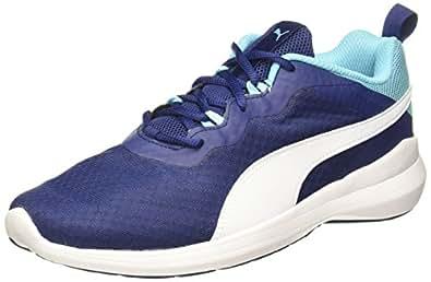 Puma Men's Pacer Evo Nrgy Turquoise-Blue Depths-Puma White Running Shoes - 10 UK/India (44.5 EU) (36487705)