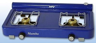 Spirituskocher Benzinkocher Mambo 2 fl. blau von HPV - Outdoor Shop