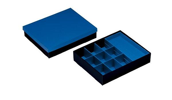 Import Royaume Uni AMAPOLA Bo/îte de rangement//archive Avec couvercle 32,0 x 45,5 x 19,0 cm Lot de 2 Nips 119261350