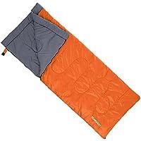 TOMSHOO Saco de Dormir Térmico de Adulto Multifunción Sleeping Bag de Forma Envolvente 190X80cm