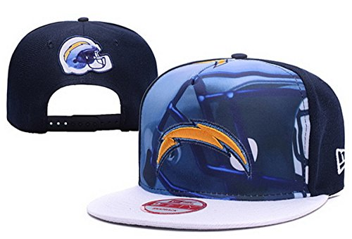 san-diego-chargers-menwomens-cotton-hat-adjustable-football-cap-blue-one-size
