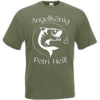 lustiges Angelshirt Kultshirt Funshirt Angeln  Angelsport  Geschenke Geburtstag Bekleidung