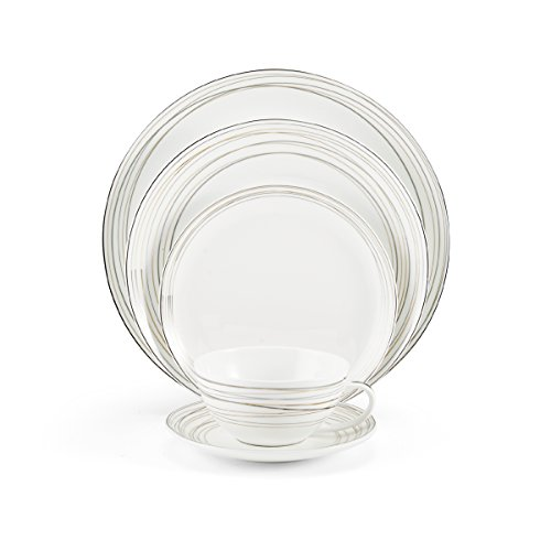 Mikasa Electric Boulevard Bone China 5-Piece Place Setting, Service for 1 -